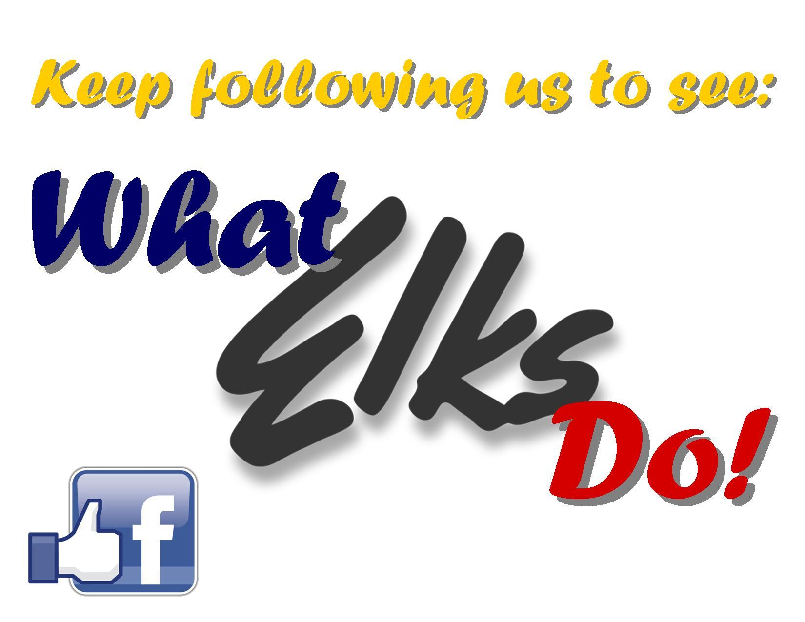 22 Follow-What Elks Do!